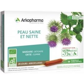 Arkopharma Arkofluides Peau Saine Et Nette Bio 20 Ampoules