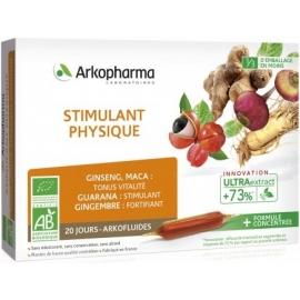 Arkopharma Arkofluides Stimulant Physique Bio 20 Ampoules