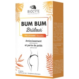 Biocyte Nutricosmetic Bum Bum Brûleur Programme Fessiers 60 Gélules
