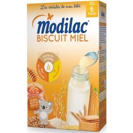 """Modilac """"Les Céréales De Mon Bébé"""" Biscuit Miel 300 g"""