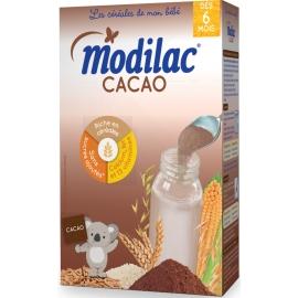 """Modilac """"Les Céréales De Mon Bébé"""" Cacao 300 g"""