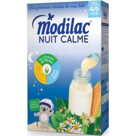 """Modilac """"Les 1ères Céréales De Mon Bébé"""" Nuit Calme 300 g"""
