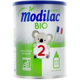 Modilac Expert 2 Bio Lait De Suite 6-12 Mois 800 g