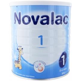 Novalac 1 Lait En Poudre Pour Nourrissons 0-6 Mois 800 g