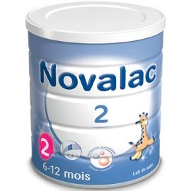 Novalac 2 Lait De Suite 6-12 Mois 800 g
