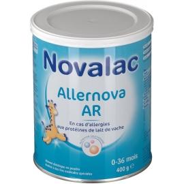 Novalac Allernova AR Aliment Diététque 0-36 Mois 400 g