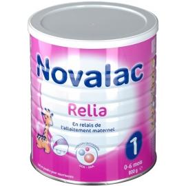 Novalac 1 Relia Lait 0-6 Mois 800 g