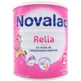 Novalac 2 Relia Lait 6-12 Mois 800 g