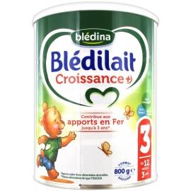 Blédilait 3 Croissance+ 12 mois à 3 Ans 800 g