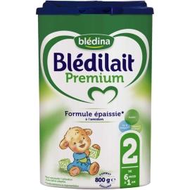 Blédilait 2 Premium 6 Mois à 1 An 800 g