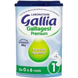 Gallia 1 Galliagest Premium De 0 à 6 Mois 800 g