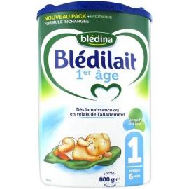 Blédina 1 Blédilait 1er âge Jusqu'à 6 Mois 800 g