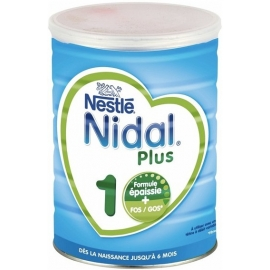 Nidal 1 Plus Dès La Naissance Jusqu'à 6 Mois 800 g