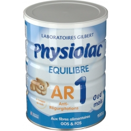 Physiolac Equilibre 1 AR 0 à 6 Mois 900 g