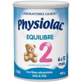 Physiolac 2 Equilibre 6 à 12 Mois 900 g