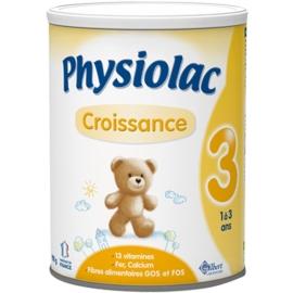 Physiolac 3 Croissance 1 à 3 Ans 900 g