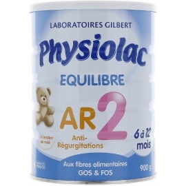 Physiolac Equilibre 2 AR 6 à 12 Mois 900 g