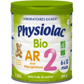Physiolac 2 Bio AR 6 à 12 Mois 800 g