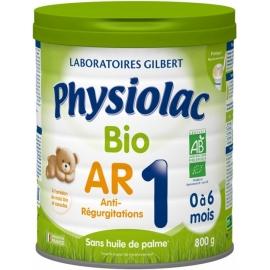 Physiolac 1 Bio AR 0 à 6 Mois 800 g