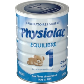 Physiolac 1 Equilibre 0 à 6 Mois 900 g