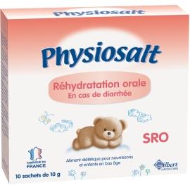 Physiosalt Réhydratation Orale 10 Sachets De 10 g