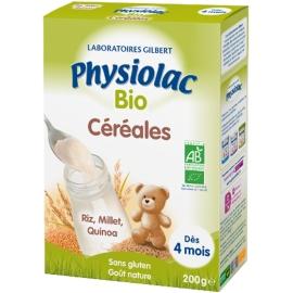Physiolac Céréales Bio 200 g