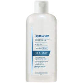 Ducray Squanorm Shampoing antipelliculaire pellicules sèches 200 ML