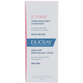 Ducray Ictyane crème émolliente Hydratante 50 ml
