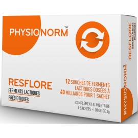 Physionorm Resflore 4 Sachets