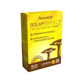 S.I.D Nutrition PreventLife SolarPerfect 30 Comprimés