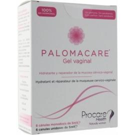 Palomacare Gel Vaginal Canules Unidoses de 5 ml x 6