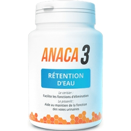 Anaca 3 Rétention D'Eau 60 Gélules