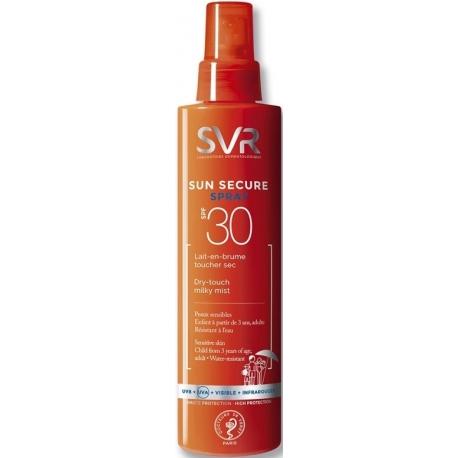 SVR Sun Secure Lait-En-Brume Spf30 200 ml