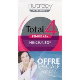 Nutreov Physcience Total 4 Femme 45+ Minceur 3D 2 x 30 Comprimés