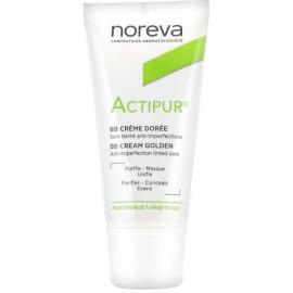Noreva Actipur Crème Anti-Imperfections Teintée Dorée 30 ml