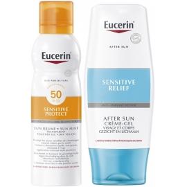 Eucerin Sun Brume SPf 50 Transparente 200 ml + Après-soleil 150 ml