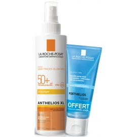 La Roche-Posay Anthelios XL SPF50+ Spray 200 ml + Postelios Hydra Gel 100 ml Offert
