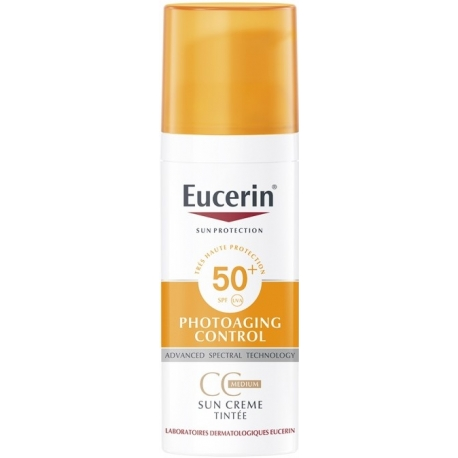 Eucerin Sun Protection Photoaging Control SPF50+ CC Crème Teintée Medium 50 ml
