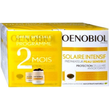 Oenobiol Solaire Intensif Nutriprotection 2 X 30 Capsules