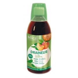Milical Draineur Ultra Goût Thé Vert Pêche 500 ml