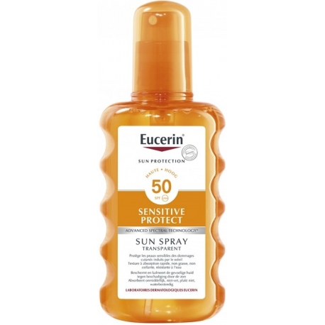 Eucerin Sun Spf 50 Spray Transparent 200 ml