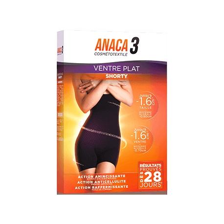 Anaca 3 Ventre Plat Shorty S/M Black