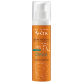 Avène Solaire Cleanance SPF 50 Matifiant 50 ml