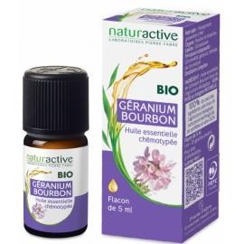 NATURACTIVE HUILE ESSENTIELLE BIO GERANIUM BOURBON 5 ml