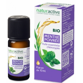 Naturactive Huile Essentielle Bio Menthe Poivrée 10 ml