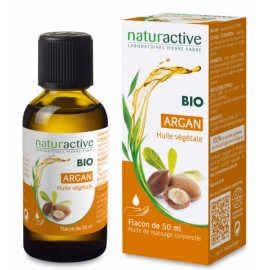 NATURACTIVE HUILE VEGETALE BIO ARGAN 50 ml