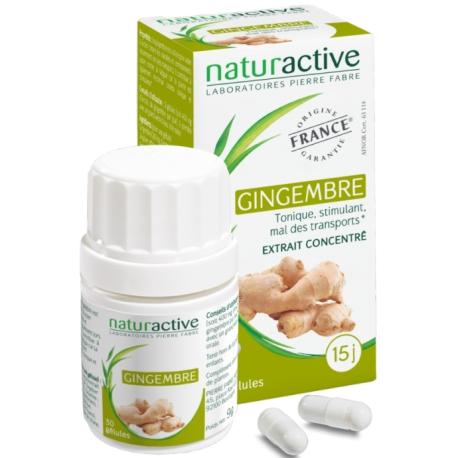 Naturactive Elusanes gingembre 30 gélules