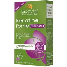Biocyte Nutricosmetic Keratine Forte Croissance 20 Gélules