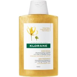 Klorane Shampooing à la cire d'Ylang-Ylang 200 ml