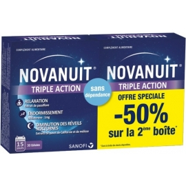 Novanuit Triple Action 2 x 30 Gélules
